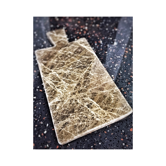 Granit mermer kesme tahtası resmi