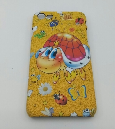 iPHONE 7 Kılıf Sarı Kaplumbağa resmi
