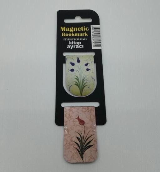 Picture of Askılı 2li İçi Mıknatıslı Kitap Ayracı ( çiçekler )