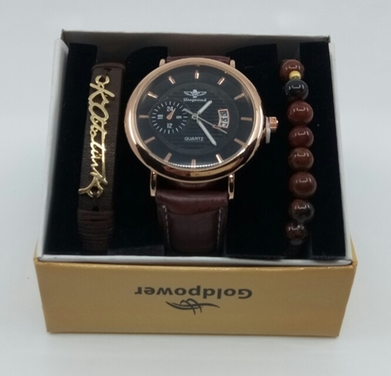 Saat Bileklik Seti Atatürk resmi