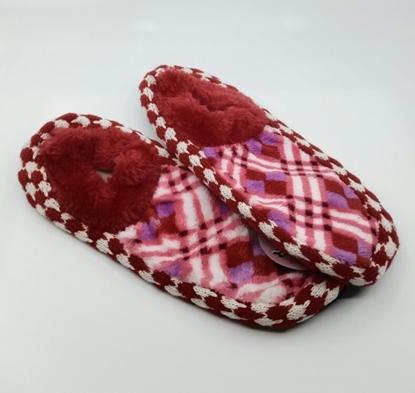 Picture of Terlik Kadın Kırmızı Pofuduk