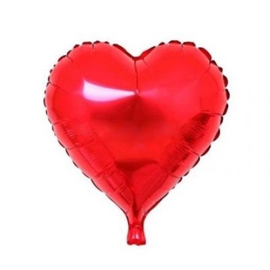 "Kalpli Folyo Balon 18"" resmi"