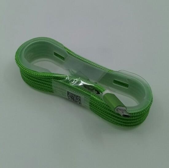 Picture of Android USB Kablo Hasır Fıstıkyeşili