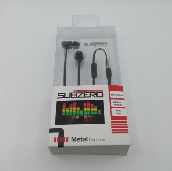 Kulaklık Mikrofon Metal Earphone resmi