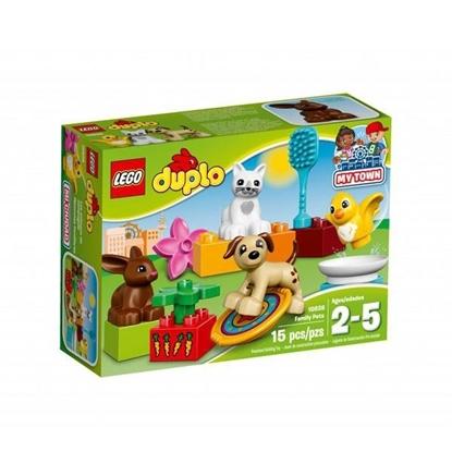 DUP-EVCİL HAYVANLAR Duplo 2-5 yaş LEGO resmi