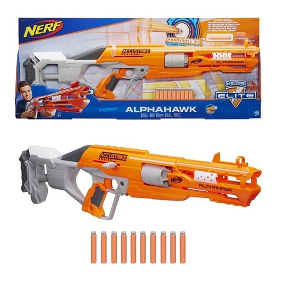 Picture of Nerf-ACCUSTRIKE ALPHAHAWK /Nerf Elite +8 yaş