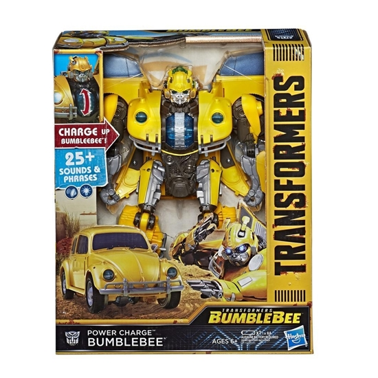 TRANSFORMERS POWER CHARGE BUMBLEBEE ELEKTRONİK FİGÜR resmi