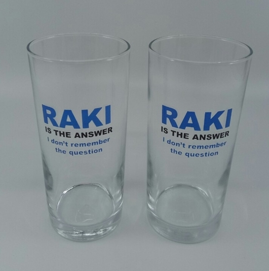RAKI BARDAĞI ( 2 adet ) (  Rakı is the answer. ) resmi