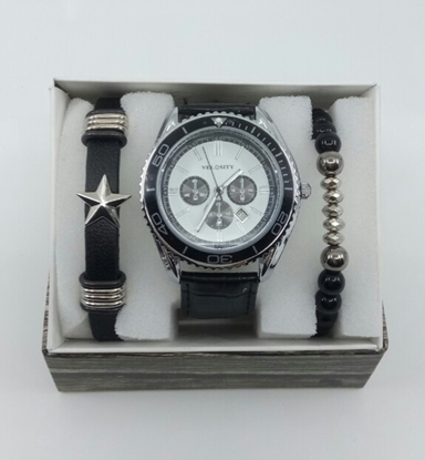 Saat Bileklik Seti ÖZEL KOLEKSİYON Beyaz Yıldız resmi