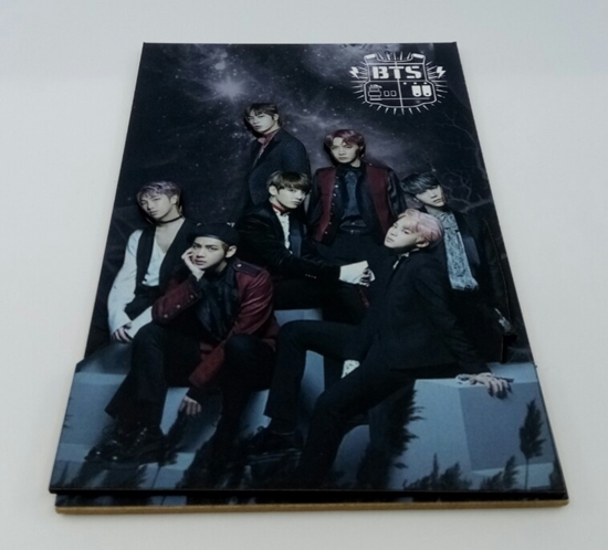 Picture of Tahta Poster  BTS 5 ( 20 cm  30 cm )