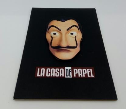 Tahta Poster  La Casa de Papel ( 20 cm  30 cm ) resmi