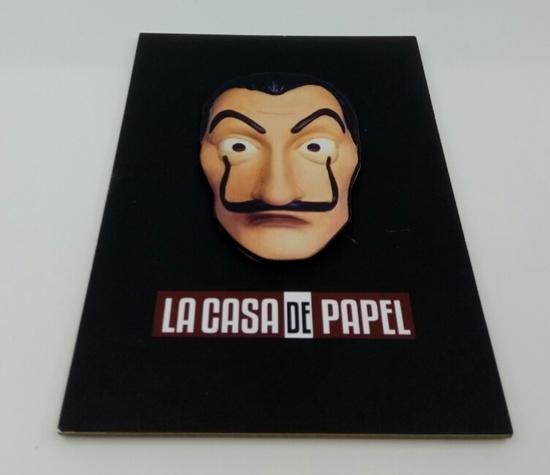Picture of Tahta Poster  La Casa de Papel ( 20 cm  30 cm )