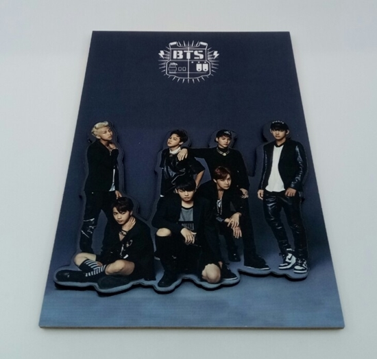 Picture of Tahta Poster  BTS 3 ( 20 cm  30 cm )
