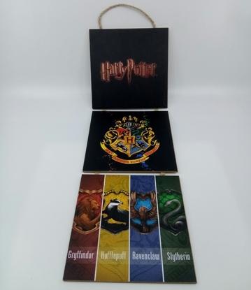 Picture of Poster , Askılı 3 Tahta Parça( Harry Potter )