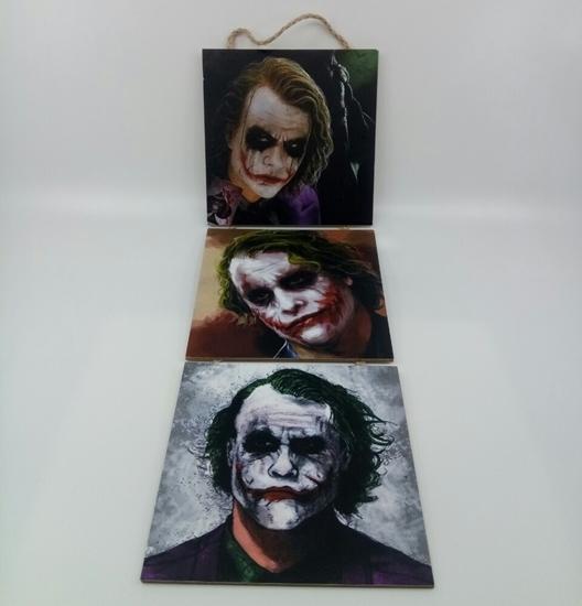 Picture of Poster , Askılı 3 Tahta Parça( Joker )