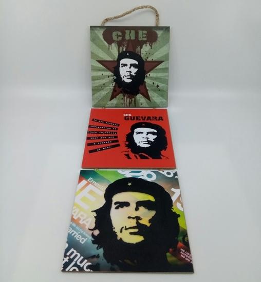 Picture of Poster , Askılı 3 Tahta Parça( Che )