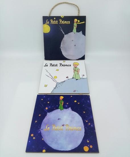 Poster , Askılı 3 Tahta Parça( Little Prince ) resmi