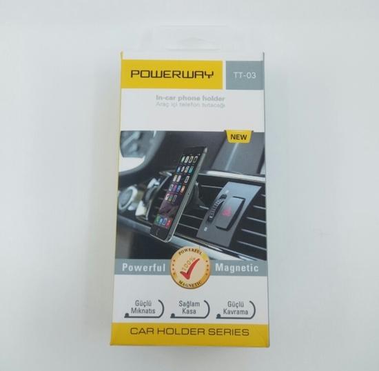 Telefon Araç Tutacağı Mıknatıslı ( PWR TT03 ) resmi