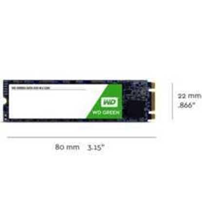 WD 120GB Green Series m.2 SSD WDS120G2G0B  545-465MB/s