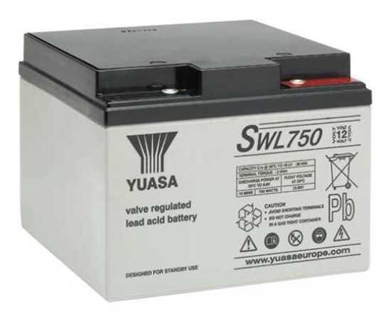 YUASA SWL750 (24Ah) BAKIMSIZ KURU AKÜ resmi