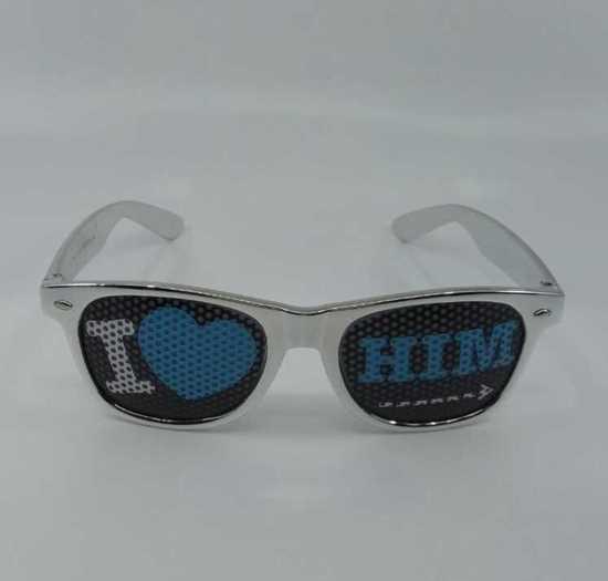 Gözlük -Nunettes - Parti Gözlüğü ( I Love Him ) resmi