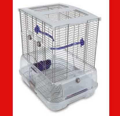 Kuş Kafesi - Hagen Vision Small Bird Cage Modern Küçük Boy Kuş Kafesi S 01 resmi