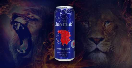 Lion Club Energy Drinks resmi