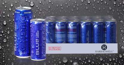 Kinetic Blue Energy Drinks resmi