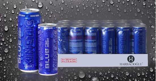 Kinetic Blue Energy Drinks resmi