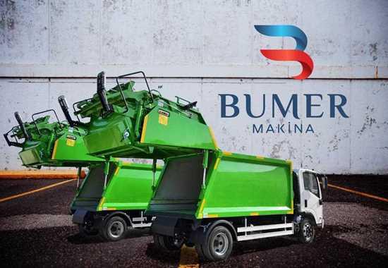 Hidrolik Sıkıştırmalı Çöp Kamyonu / Hydraulic  Garbage Compactor resmi