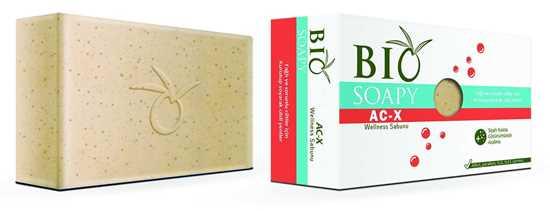 Picture of Biosoapy® AC-X Wellness Akne Sivilce Sabunu 100 gr (Yağlı ve sorunlu ciltler için kurutup soyarak cildi yeniler)