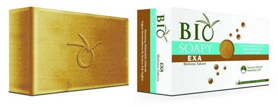 Biosoapy® EXA Wellness Egzama Sabunu 100 gr (Kurumuş,Döküntülü Ciltlerde Yoğun Nemlendirme ile Onarıcı Etki) resmi