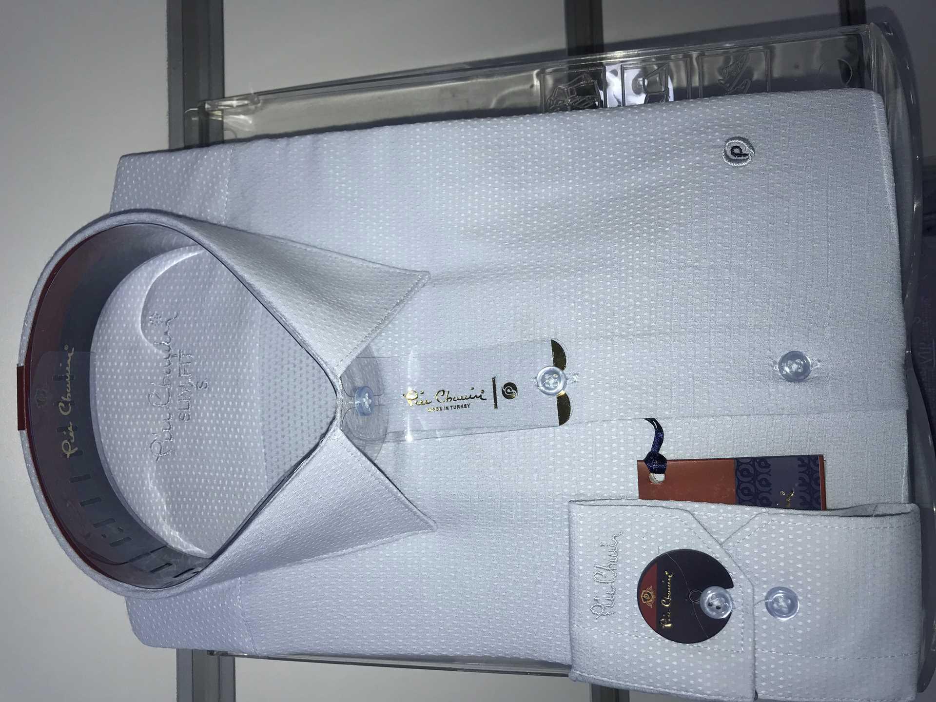 Picture of Kendinden desenli Pamuklu gömlek