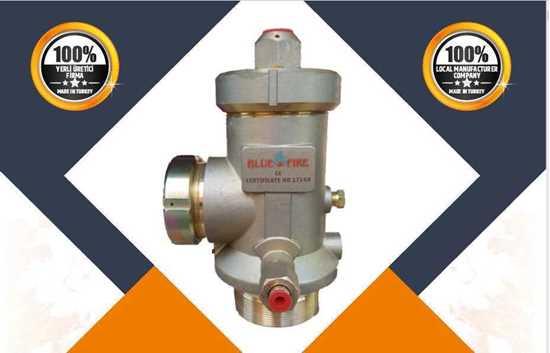 fm200 valve 2''