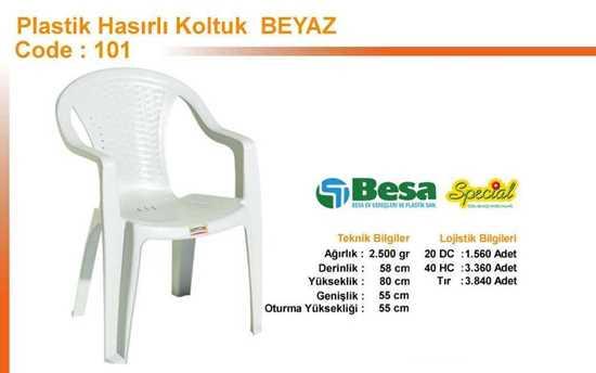 Picture of 101-besa-beyaz-plastik-sandalye