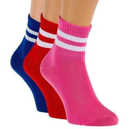 Picture of 3'lü Paket Renkli Bayan Çorabı