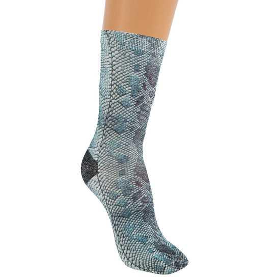 Yılan Desen Çorap resmi