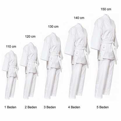 karate elbisesi resmi