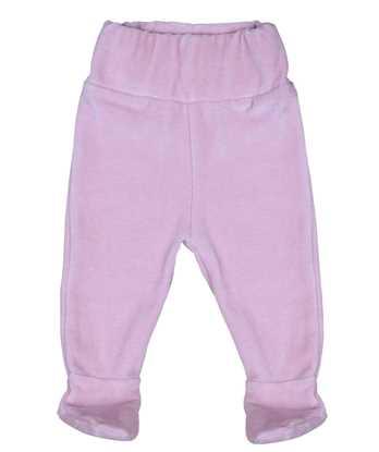 %100 Organik Pamuktan Bebek Patikli Pantolon resmi