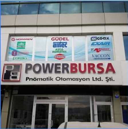 Picture for vendor POVVERBURSA PNOMATİK OTOMASYON LTD. ŞTİ.