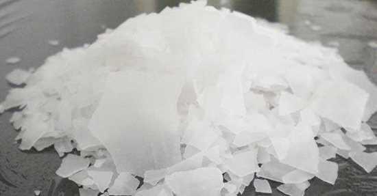 kastık soda.Sodyum hidroksit resmi