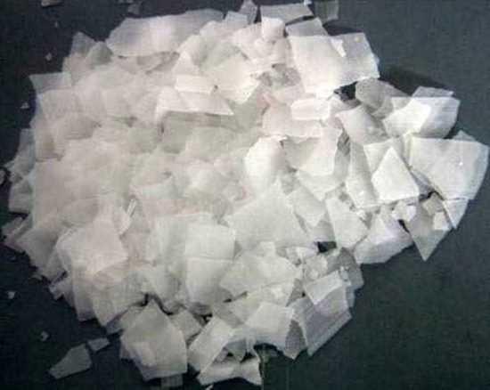 Picture of kastık soda.Sodyum hidroksit