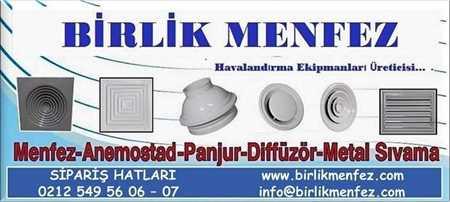 Picture for vendor Birlik Menfez HAvalandırma EKipmanları SAN.TİC.LTD.ŞTİ.