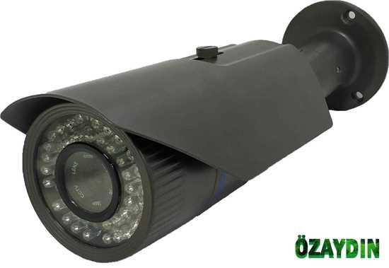 Samsung Metal Kasa Model 2 MP AHD ATOM LED 1/3 4mm sabit lens 1080P FULL HD GÜVENLİK KAMERASI resmi