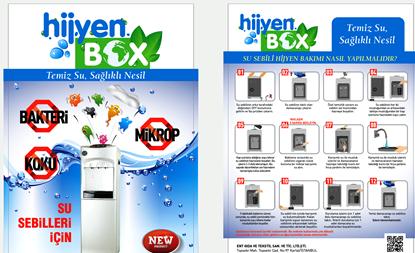 Picture of HijyenBox Su Sebili Temizleme ve Dezenfekte Tam Takım set