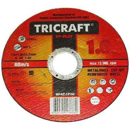 115X1 İNOX KESİCİ TRİCRAFT resmi