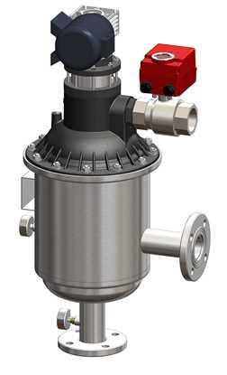 Automatic backwash water filter resmi