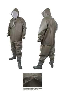 Yağmurluk Balıkçı Takım (Üstten Giyme) resmi
