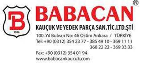 Satıcı için resim BABACAN RUBBER INDUSTRY AND TRADE LTD. CO.