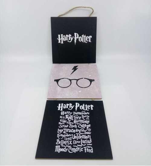 Picture of Tahta Poster 3lü Askılı Harry Potter